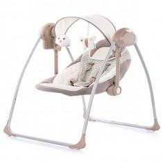 Leagan Si Balansoar Electric Chipolino Sonata Cappuccino - Set mobila copii