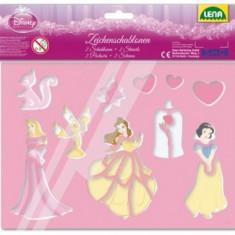 Set Sabloane Disney Princess - Jocuri arta si creatie Lena