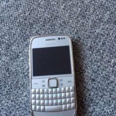Nokia E6 silver original stare impecabila, ca nou original, neumblat !PRET:390lei - Telefon mobil Nokia E6, Argintiu, Neblocat