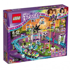 Lego Friends Montagne Russe In Parcul De Distracè›Ii L41130