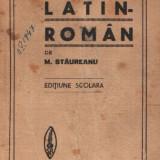 Dicţionar Latin - Roman de Stăureanu