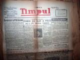 ZIAR VECHI   - TIMPUL  - 17 SEPTEMBRIE  1945