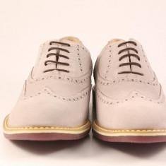 Candrani Liverpool Ghiaccio - Pantofi barbat Candrani, Piele naturala, Eleganti