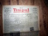 ZIAR VECHI   - TIMPUL  -  26 SEPTEMBRIE 1947