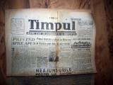 ZIAR VECHI   - TIMPUL  -  3 FEBRUARIE 1946