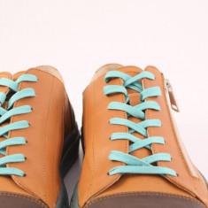 Candrani Lejer Sneakers Gordon Brick & Flotter Brandy - Pantofi barbat Candrani, Piele naturala