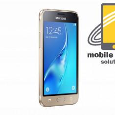 Samsung Galaxy J1 ( J120F ) 4G 8GB Gold! Factura si Garantie 24 de luni ! - Telefon Samsung, Auriu, Neblocat, Single SIM