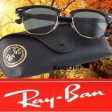 Ochelari Ray Ban Clubmaster Wayfarer Metal - Ochelari de soare Ray Ban, Unisex, Verde, Protectie UV 100%