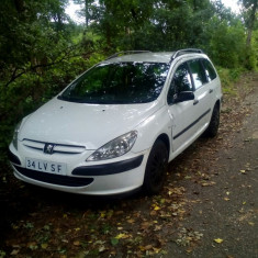Peugeot 307 Break, An Fabricatie: 2003, Benzina, 1587 cmc, 307 SW, 285000 km