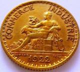 Moneda 1 Franc - FRANTA, anul 1922  *cod 2528, Europa