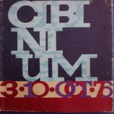 CIBINIUM 3-10 oct. 1976 / R3P2S