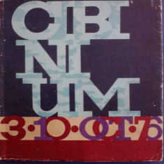 CIBINIUM 3-10 oct. 1976 / R3P2S - Revista culturale