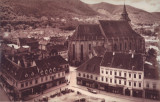 Carte postala CP BV038 Brasov - Piata Sfatului in jurul anului 1900