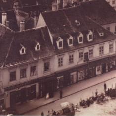 Carte postala CP BV039 Brasov - Piata Sfatului in jurul anului 1900, Necirculata, Printata