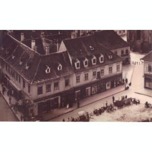 Carte postala CP BV039 Brasov - Piata Sfatului in jurul anului 1900