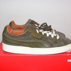 Adidasi Puma Alexander McQueen AMQ Suede 356231 01 nr. 40, 5 - Adidasi barbati Puma, Culoare: Din imagine, Piele intoarsa