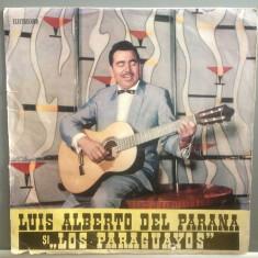 LUIS ALBERTO & LOS PARAGUAYOS - ALBUM( EDE 0217/ELECTRECORD) - VINIL/stare BUNA