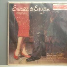 SELECCION DE ESTRELLAS vol 4 - CUBANO - MUSIC( LPD105/RCA VICTOR) - VINIL/F.BUN - Muzica Latino rca records