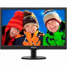 Monitor LED Philips 193V5LSB2 HD 18.5 Inch 5 ms