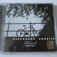 CD ORIGINAL NOU IN TIPLA ALEXANDRU ANDRIES ALBUMUL DESERT - Muzica Folk