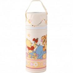 Suport termoizolant pentru biberon Winnie the Pooh Lulabi