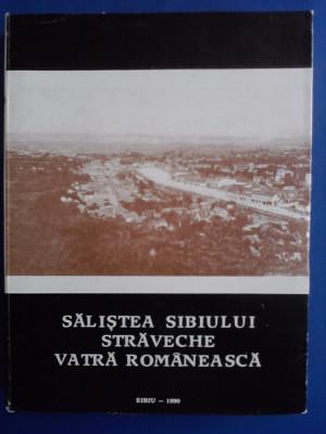 Salistea Sibiului, straveche vatra romaneasca /  R2P1F foto