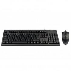 Kit mouse tastatura Comfort A4Tech KR-8520D USB, Cu fir