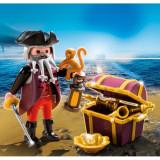Piratul si cufarul comorii Playmobil