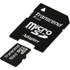 Card de memorie Transcend Micro SDHC 16 GB Clasa 4 adaptor SD - Card Micro SD