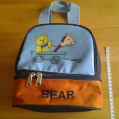 Baby Bear / geanta copii 21 x 18 x 13 cm - Ghiozdan, Altele
