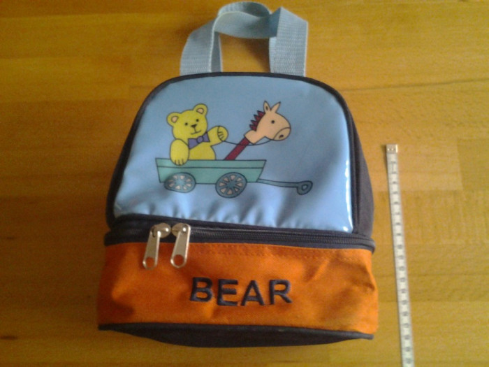 Baby Bear, geanta copii 21*18*13 cm foto mare