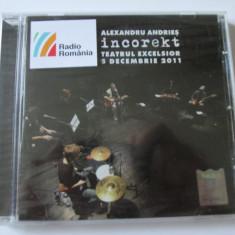 CD ORIGINAL NOU IN TIPLA ALEXANDRU ANDRIES ALBUMUL INKORECT