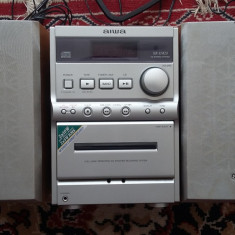 SISTEM AUDIO AIWA MODEL XR-M20 CITESTE CD/CASSETTE/RADIO, MADE JAPAN