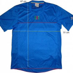 Tricou sport fotbal ADIDAS ClimaCool Italy (L) cod-173957 - Set echipament fotbal Adidas, Marime: L