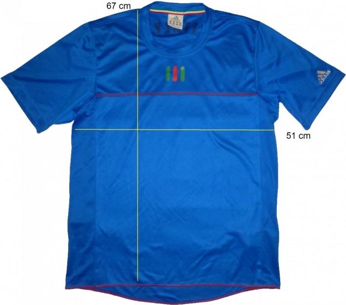 Tricou sport fotbal ADIDAS ClimaCool Italy (L) cod-173957 foto mare