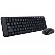 Kit mouse si tastatura Logitech Wireless Combo MK220, Fara fir, USB