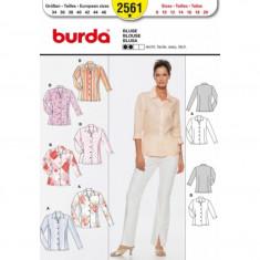 Tipar croitorie Bluza Burda Style