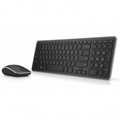Kit wireless mouse si tastatura Dell KM714, Fara fir, USB