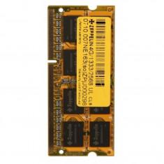 Memorie RAM Zeppelin, 8 GB, DDR3, 1600 Mhz, SODIMM