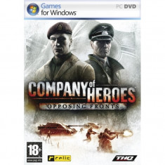 Joc Company of Heroes Opposing Fronts PC - Jocuri PC Thq, Strategie, 18+, Multiplayer