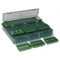 Cutie Jaxon pentru accesorii crap 36x28x5cm RH-222 - Geanta pescuit