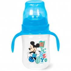 Biberon cu maner 240 ml Mickey Lulabi