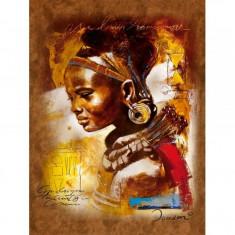 Puzzle Frumusete africana, 1000 piese Ravensburger