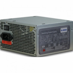 Sursa Inter-Tech SL-500, 500 W, ATX - Sursa PC, 500 Watt