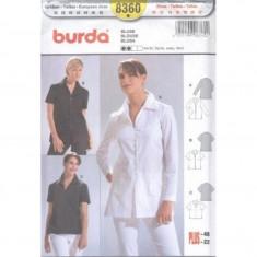 Tipar croitorie Camasa Burda Style 8360