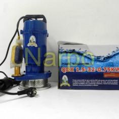 Pompa de apa submersibila Micul fermier QDX 750W 32m 3mc cu plutitor - Pompa gradina, Pompe submersibile, de drenaj