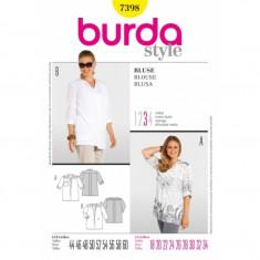 Tipar Bluza de vara lejera Burda Style 7398