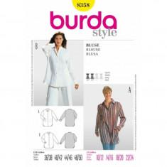 Tipar croitorie Camasa Burda Style 8358