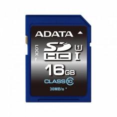 Card memorie AData SDHC Premier 16 GB Clasa 10 UHS-I U1 - Secure digital (SD) card