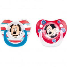 Set 2 suzete Mickey 6 luni Lulabi - Suzeta